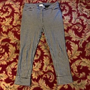 Anthropologie cropped pants 8